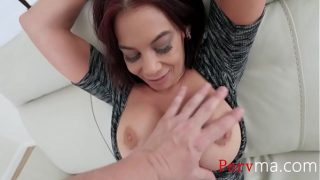 British horny mom teaches son some self control during the sex