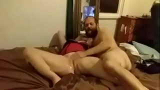 Daughter Blindfolded And Used As Dads Little Fuck Toy