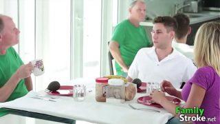 FamilyStroke.net: Kagney Linn Karter New Dad Girlfriend