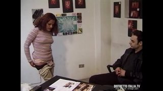 Horny babe having hardcore fuck with step brother
