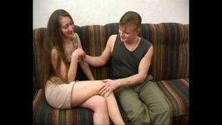 Hot russian mom having hardcore fuck with friend of son xxx