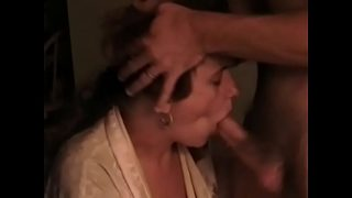 Jealous Son Destroys Step Moms Head and Mouth