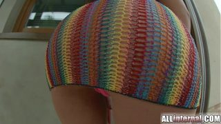 Xvideos creampie dripping from gaping teen anus
